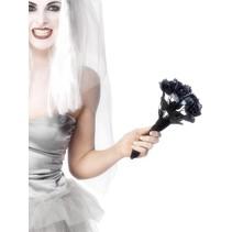 Halloween boeket zwarte rozen