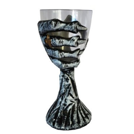 Drinkglas Gotisch Hand Geraamte