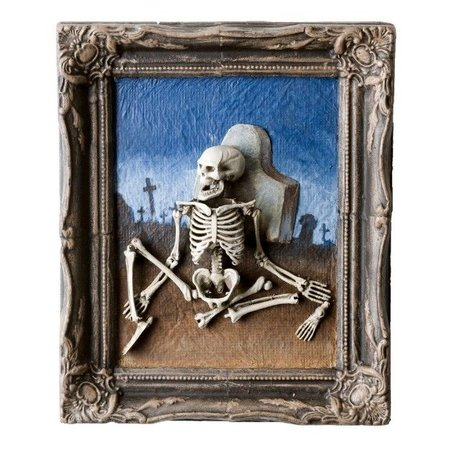 Schilderij Skelet
