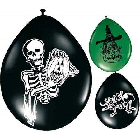 Halloween ballonnen 30cm 8 stuks