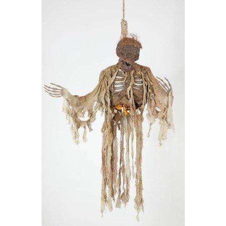 Hangende geest decoratie verkoold