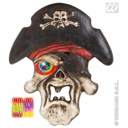 Piratenschedel met licht