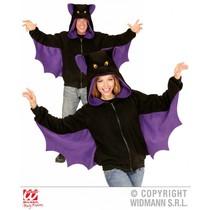 Vleermuis hoodie vest