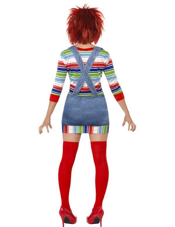 Halloween Kostuum Vrouw.Chucky Kostuum Vrouw