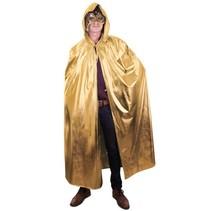 Gouden cape met capuchon