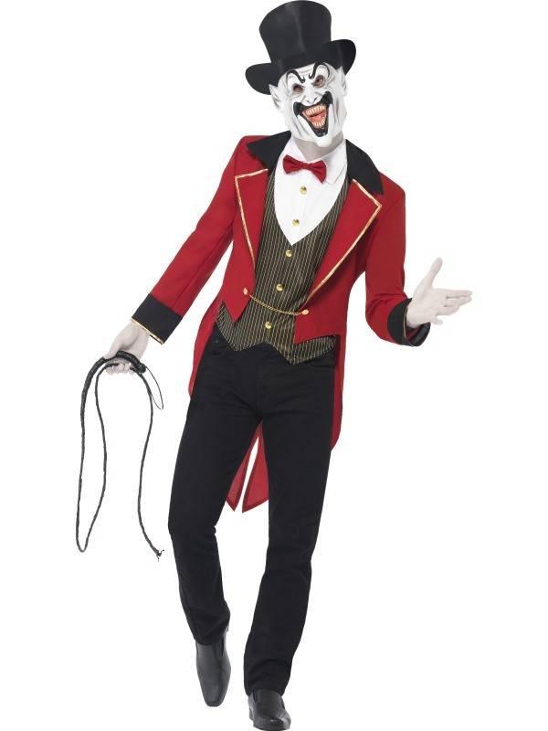 Enge Kostuums Halloween.Enge Circus Baas Kostuum