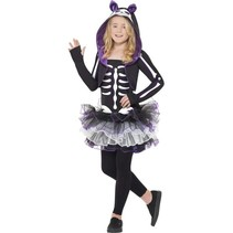 Skelly Cat Halloween kostuum kind