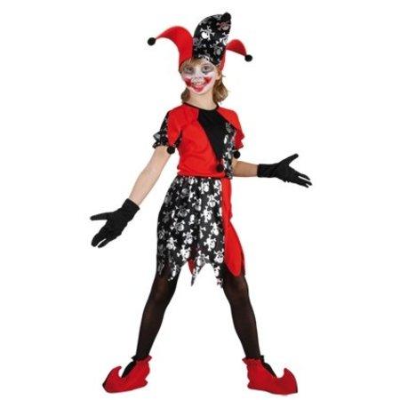 Halloween jokertje meisje