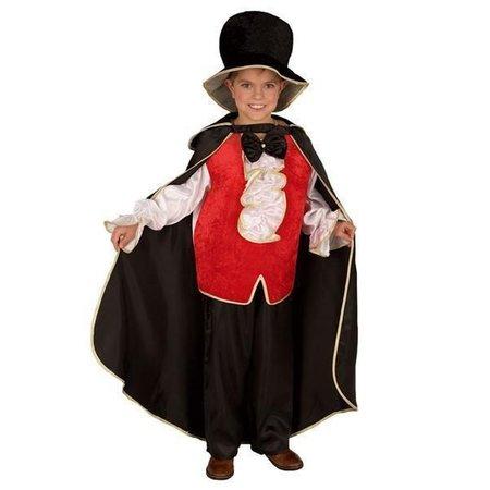 Kostuum Dracula kind + hoed
