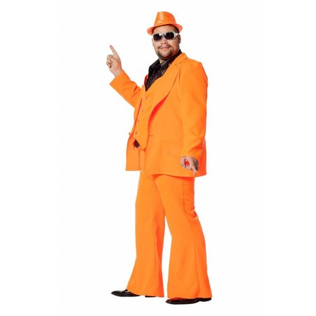 Disco Fever Carnavalspak oranje