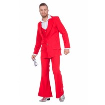 Disco Fever Carnavalspak rood
