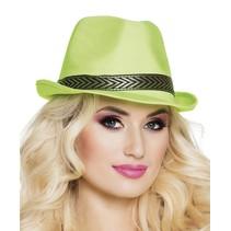 Hoed neon groen