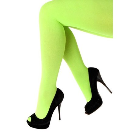 Panty 60 den microfiber fluor groen