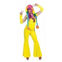 Disco Jumpsuit neon geel