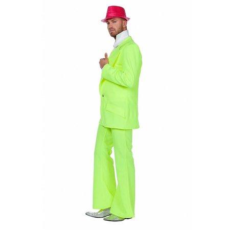 Disco Fever 80's pak neon geel