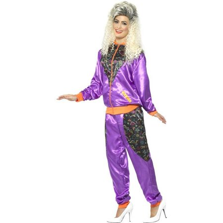 Retro fout disco kostuum vrouw