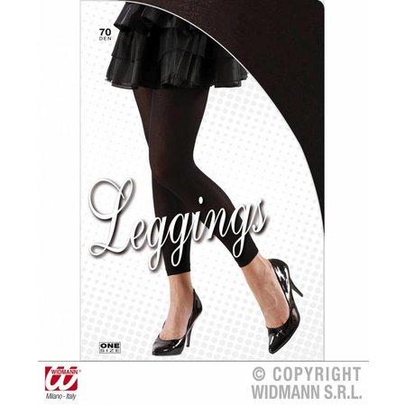 Legging basic zwart