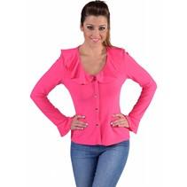 Jersey blouse pink