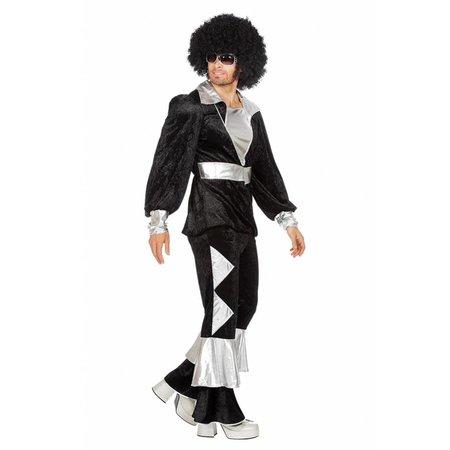 Disco kostuum zwart Abba
