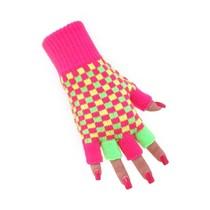 Vingerloze Handschoenen Neon
