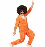 Oranje trainingspak disco
