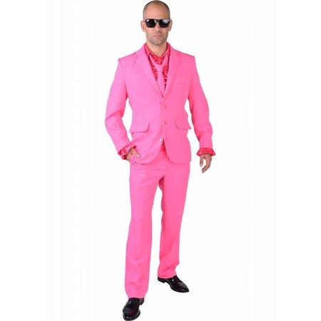 Pink kostuum man blues