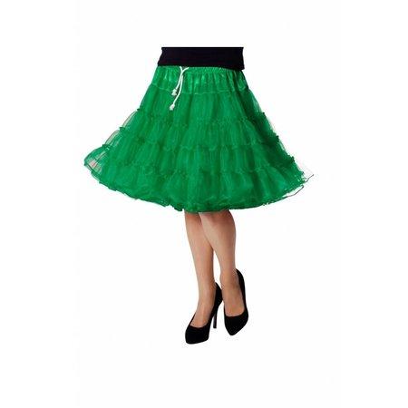 Petticoat Luxe groen