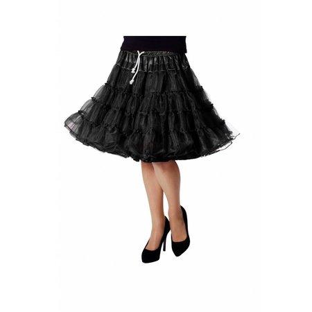 Petticoat Luxe zwart