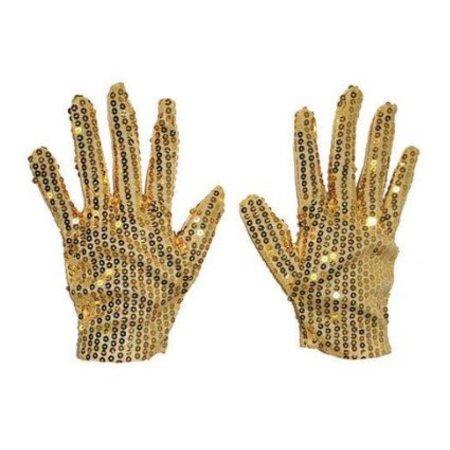 Handschoenen Michael Jackson goud