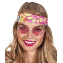 Hippiebril roze
