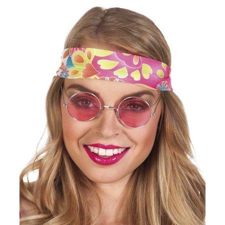 Hippiebril roze