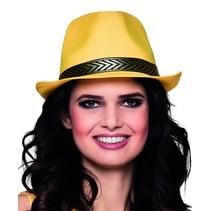 Disco hoed geel