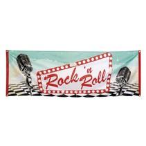 Banner Rock 'n Roll