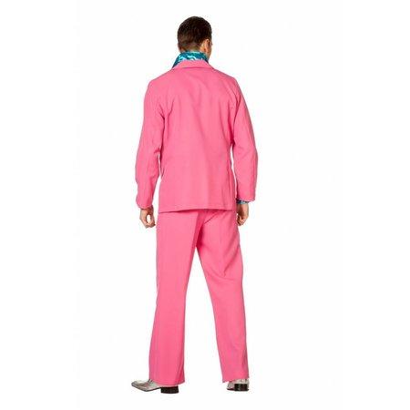 Roze kostuum heren