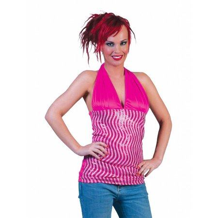 Halter Top Roze