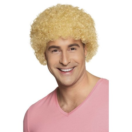 Pruik pop blond
