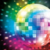16 Servetten Disco Fever 70's