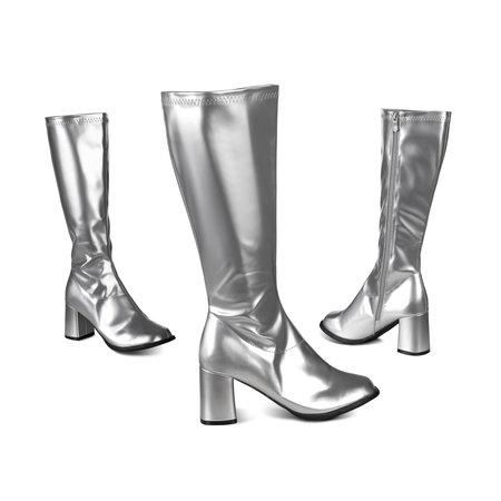 Laarzen Retro zilver