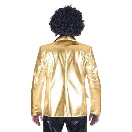 Disco colbert goud man