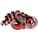 Serpentines Metallic Rood