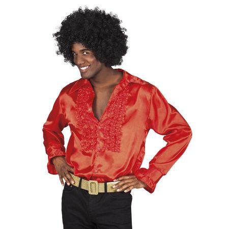 Disco Blouse Man Rood