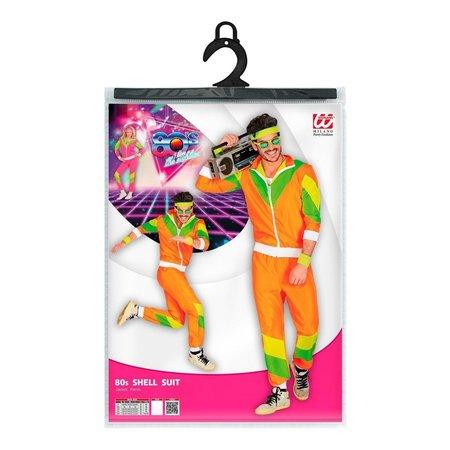 Foute Party Trainingspak Neon Oranje