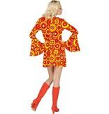 70's Jurk Disco Oranje