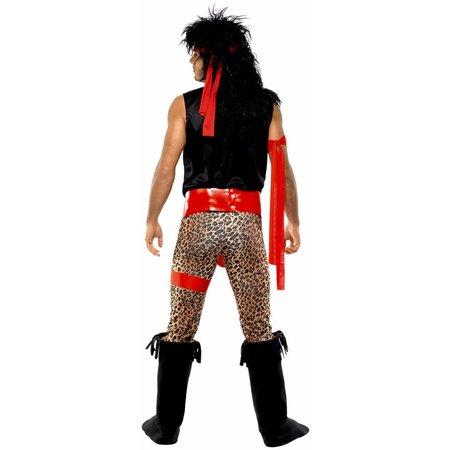 Rockstar jaren 80 kostuum