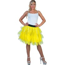 Fancy Petticoat fluor geel