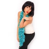 Boa sjawl turquoise