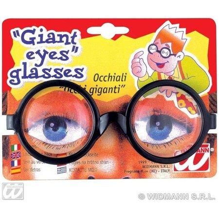 Nerd bril grote ogen