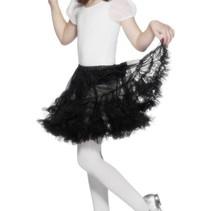 Zwarte petticoat kind