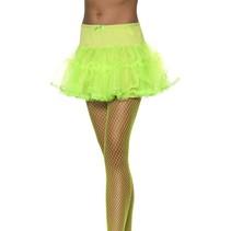 Tule petticoat groen