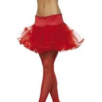 Tule petticoat rood
